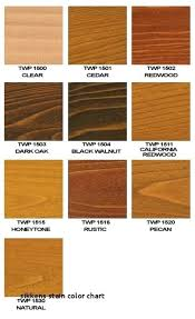 Oak Stain Color Chart Oak Wood Stain Colors Cooksscountry Com