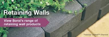 Small Picture Retaining Walls Retaining Wall Blocks Boral