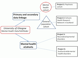 Flow Chart Of Primary And Secondary Data University Of Glasgow Mental Health Data Science Scotland