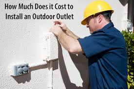 cost to install an outdoor