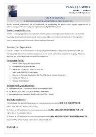 cad drafter cad drafter drafting resume