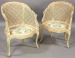 french cane chair. Victorian Barrel Chair Great Pair French Cane Chairs Seller Back