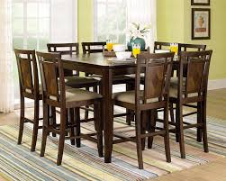 Dining Table University Loft Company Throughout Bar Height Mesmerizing Dining Room Table Height Decor
