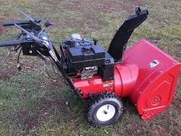 Ariens St824 Light Kit Toro Snow Blower 8hp 24 Inch Two Stage Electric Start Just Serviced Runs Good