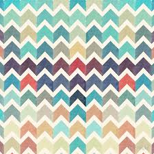 Watercolor Chevron Pattern