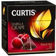 "<b>Чай черный</b> ""<b>Curtis</b>"" Isabella Grape, в пирамидках (Компания Май ..."