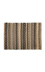 mackenzie childs lattice dot rug 2 x 3 charcoal