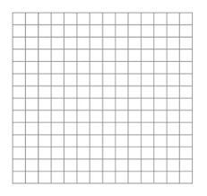 Quarter Inch Grid Paper Template