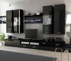 Image Is Loading Toskan 4 Black Entertainment Center For Living Room