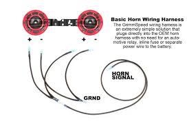 grimmspeed hella horn wiring harness 2002 2014 wrx 2004 2014 sti grimmspeed hella horn wiring harness 2002 2014 wrx 2004 2014 sti