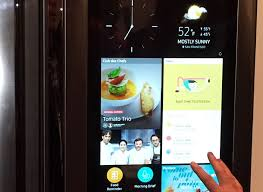 samsung refrigerator touch screen. a look inside samsung refrigerator touch screen m