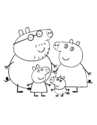 peppa pig printable coloring pages pdf pretty le book c