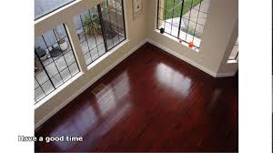 image brazilian cherry handscraped hardwood flooring. Amazing Brazilian Cherry Floors Hardwood Floor YouTube Darkening With Maple Cabinets In Kitchen And Image Handscraped Flooring