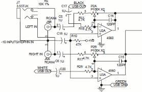 audio equipment design analysis rca input floating ground strange if you look at it the rca connector grounds are not directly connected to circuit ground instead they are connected to