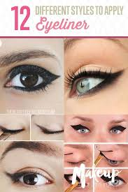 best ideas for makeup tutorials picture description 12 diffe eyeliner tutorials you ll be thankful