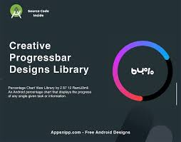 Creative Progress Bar Library For Android App Snipp