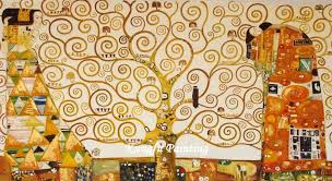 kgm2009 100 hand painted oil paintings of famous artists gustav klimt painting reion tree of life in painting calligraphy from home garden on