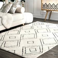 handmade diamond trellis wool natural rug nuloom moroccan geometric beads grey 9x12