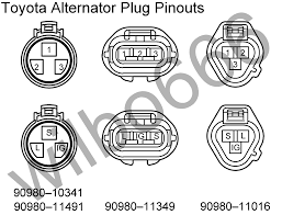 wilbo666 toyota alternators 3 Pin Alternator Wiring Diagram alternator regulator 's' terminal lucas 3 pin alternator wiring diagram