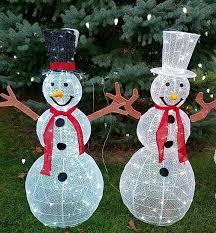 Indoor Snowman Lights