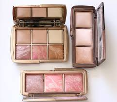 hourglass ambient lighting edit palette next to the hourglass ambient lighting and ambient blush palettes for