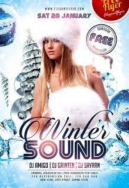 Freepsdflyer | Download Free Winter Flyer Psd Templates For Photoshop!