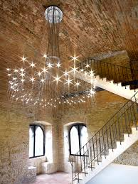 funky lighting ideas. The Ceiling Lamp Is Just Perfect One For This Old Bricks Open Space. LED Metal FONTANA By Spot, Design Orazio Spada Funky Lighting Ideas