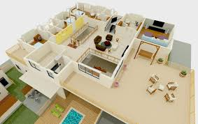 3d floor plans by houzone com