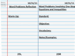 10 word problems reflection word problems involving one step