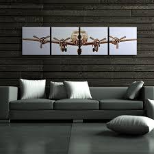 plane wall decor