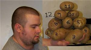 Most Potatoes Held In Hand | World Record | Dustin Oliver