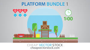 vectorstock watch our new video tutorial now and learn how to make your own platform game