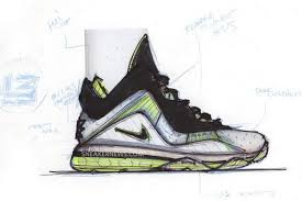 lebron shoes drawing. lebron viii shoes drawing