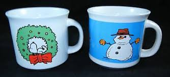 Custom printed mugs in ceramic including logo mugs and custom imprinted mugs by adco marketing. Lot Of 2 Peanuts Large Coffee Mugs Cup Christmas Charlie Brown Snoopy Mint 29 99 Picclick