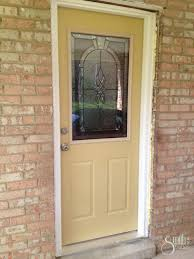 front door installationFront Door Reveal  A Smith of All Trades
