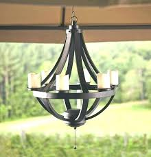 non electric candle chandelier outdoor s parts battery chandeliers for