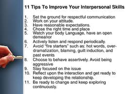 interpersonal savvy how to improve interpersonal skills under fontanacountryinn com