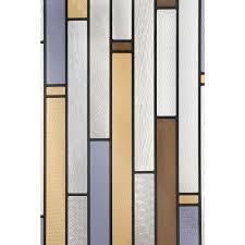 Artscape 12 in. x 83 in. Modera Sidelight Decorative Window Film ...