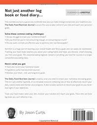 eating log the daily food nutrition journal a log book food diary to