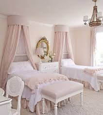 Shabby Chic Pink Kids Bed
