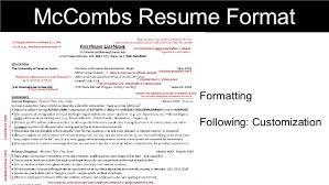 Mccombs Resume Format Resume Workshop Digital Marketing Today 99