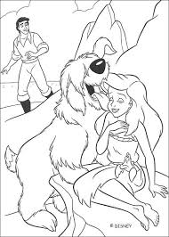 Small Picture Erics dog and ariel coloring pages Hellokidscom
