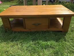 next hartford coffee table with 2 side baskets