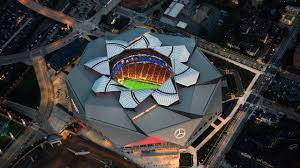 The final four rotation is an exclusive club that's tough to georgia state does not have a stadium suit for fcs/fbs football. Mercedes Benz Stadium Heart Of Atlanta Mercedes Benz Stadium