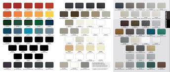 Sherwin Williams Powder Coat Color Chart Best Picture Of