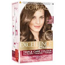 Loreal Light Brown Loreal Paris Excellence Creme Hair Color 72 Ml 100 G 6 Natural Light Brown