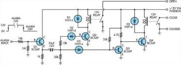 central locking interface community central locking interface circuit diagram