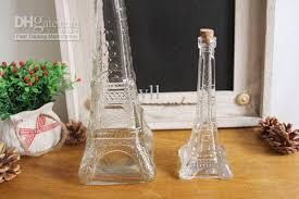 How To Decorate Perfume Bottles wholesale The Eiffel Tower small glass bottle perfume bottle 32