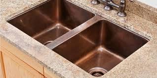 copper kitchen sinks ideas modern kitchen 2017