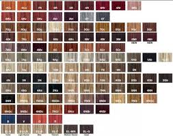 Redken Permanent Hair Color Chart Redken Cover Fusion Hair Color Chart Google Search In